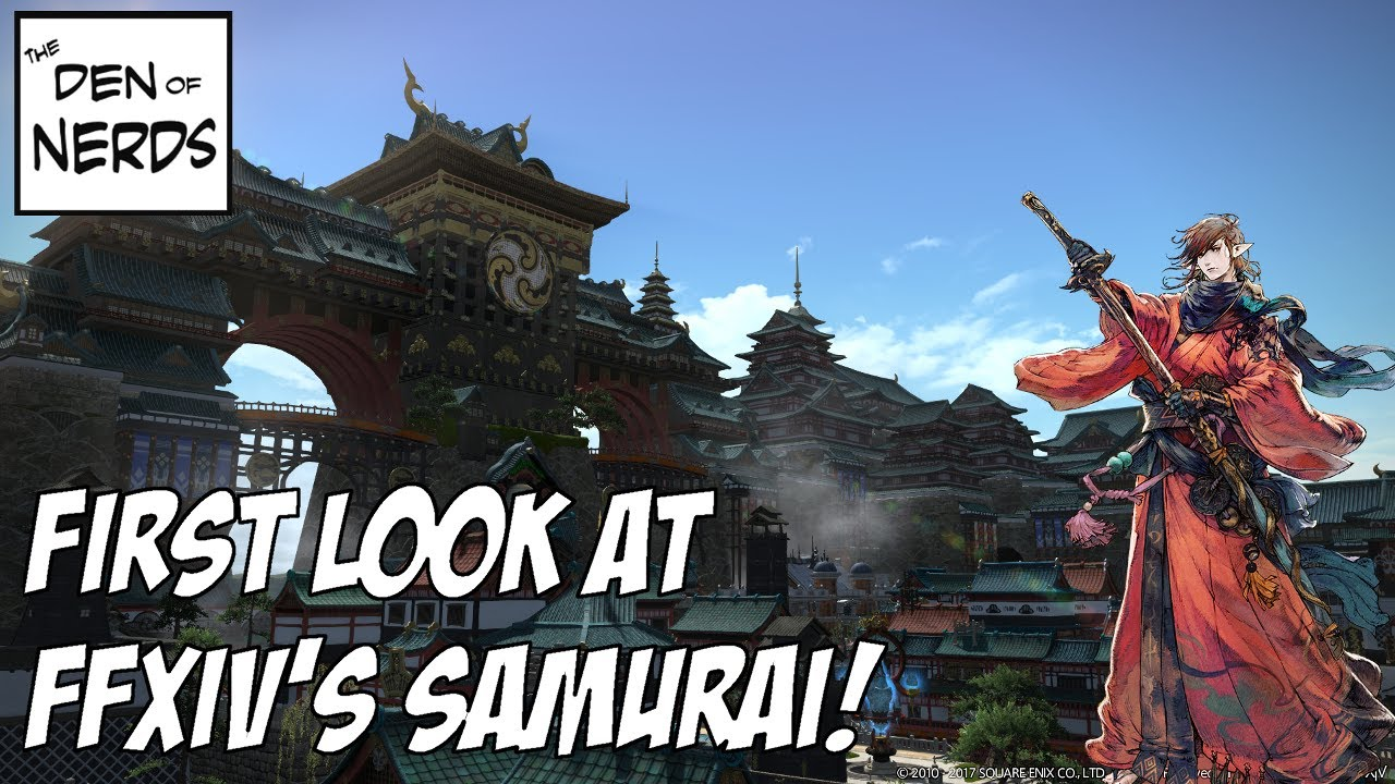 The Samurai Has Arrived in FFXIV Stormblood! Is it a Truly