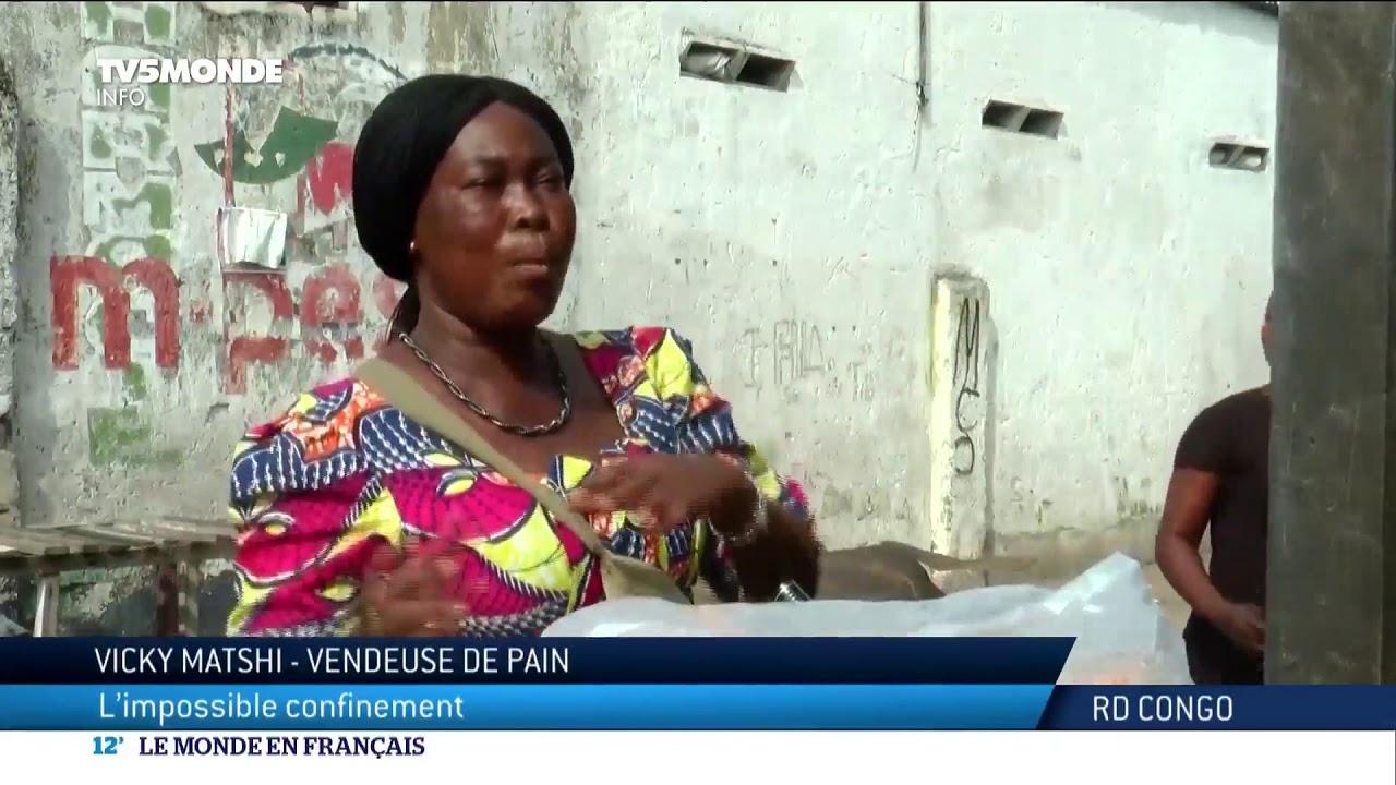 RDC : l'impossible confinement à Kinshasa