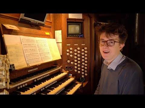 James Anderson-Besant and the finale of Widor's Organ Symphony No. 6