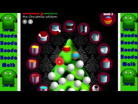 Factory Balls the Christmas Edition Walkthrough Levels 1-5 - YouTube