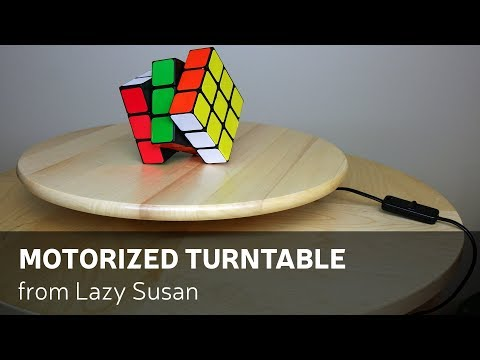 How To Make Motorized Turntable