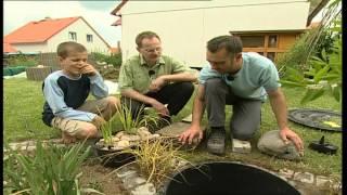 Bauanleitung, Wasserspiel selber bauen, Schöner Garten-Schnickschnack für die Grünfläche