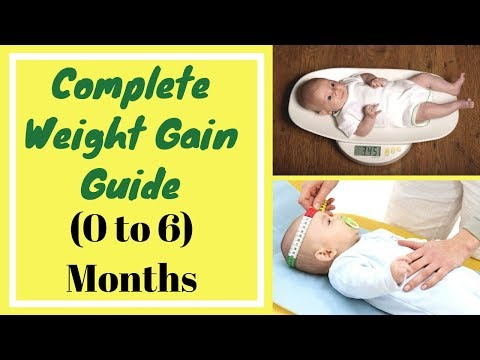 How To Gain Weight Fast For Baby | Complete Weight Gain Guide For Baby | 0 to 6 Months