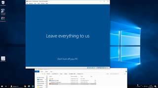 How To Create a Virtual Machine running Windows 10