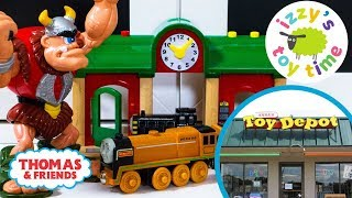 TOY STORE TRIP! Thomas and Friends at Anna's Toy Depot! Fun Toy Trains !