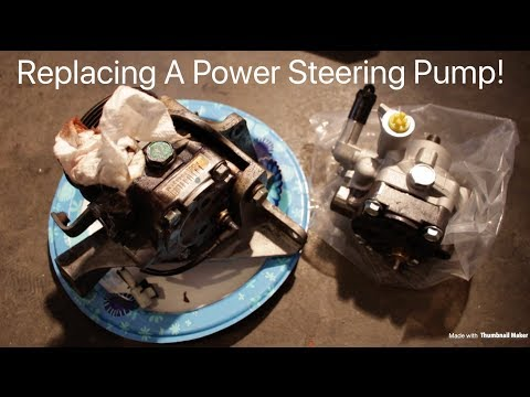How To Replace a Subaru STI Power Steering Pump! Finally Getting My Subie Back!