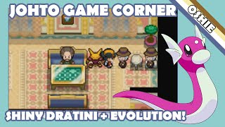 Live Shiny Game Corner Dratini in Pokémon SoulSilver - 1756 Pokémon Seen!