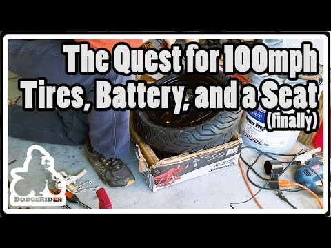 Tires, Battery, and a Seat - The Quest for 100mph