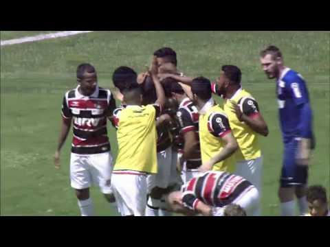 Santa Cruz 4 x 1 Vitória   Gol de Grafite   Campeonato Brasileiro 2016
