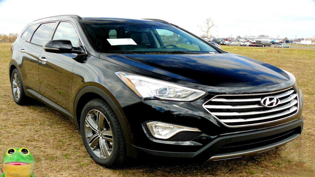 Charming 2014   2015 Hyundai Santa Fe Long Wheelbase 7 Passenger Review 6 Seat  Limited Walk Around   YouTube