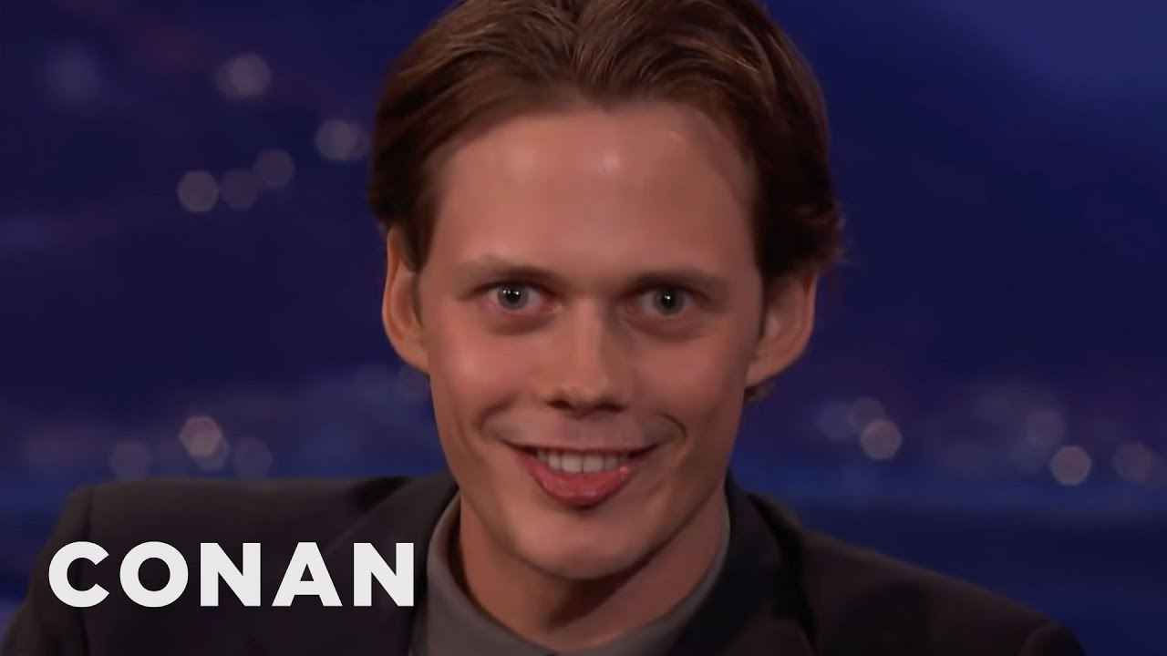 "Download Bill Skarsgård's Demonic ""IT"" Smile | CONAN on TBS"