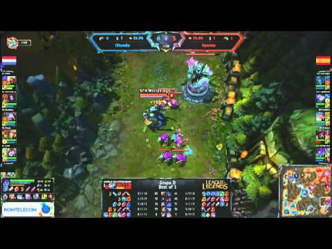 IeSF 2013 World Championship - LoL - Group Stage - Spain vs Netherlands