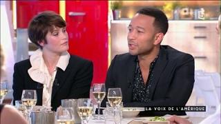 John Legend, la voix de l'Amérique - C à vous - 27/03/2017