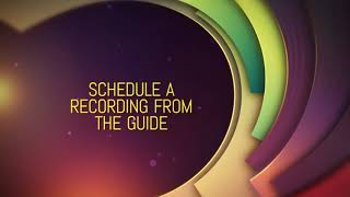 Schedule a Recording From the Guide - TCC IPTV Tutorial
