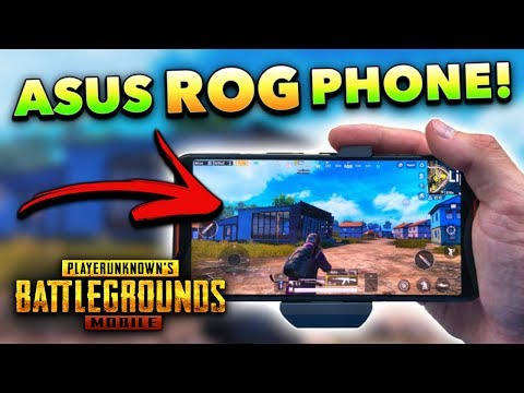 PUBG Mobile on the ASUS ROG Phone! (Full Review)