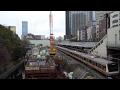 JR御茶ノ水駅改良工事の建設状況(2017年2月11日) の動画、YouTube動画。