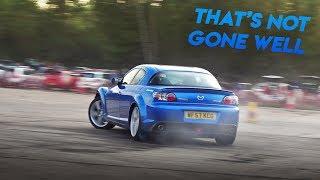 I TRIED DRIFTING MY RX8!