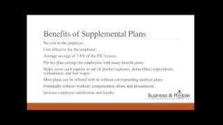 Introduction to Supplemental Benefits: Leveraging Practic...
