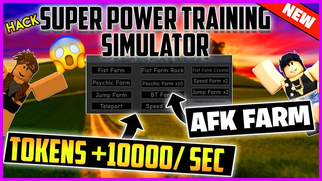 How To Hack Super Power Training Simulator In Roblox - Free