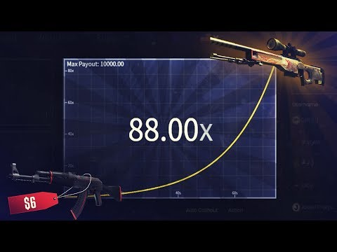 TURNING A REDLINE INTO A DRAGON LORE!?!