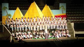 Junior Sing Song 2012- Pharaoh, Pharaoh, Oh Baby, Let My People Go!