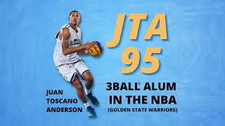 Juan Toscano Anderson 3ballin shortly before he became a Golden State Warrior