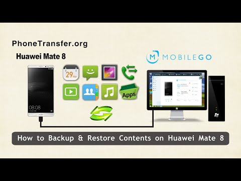 Restore and Backup Huawei Phone via 2 Methods
