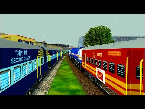 Yoga Express in MSTS Open Rails by Sumit Mehrotra