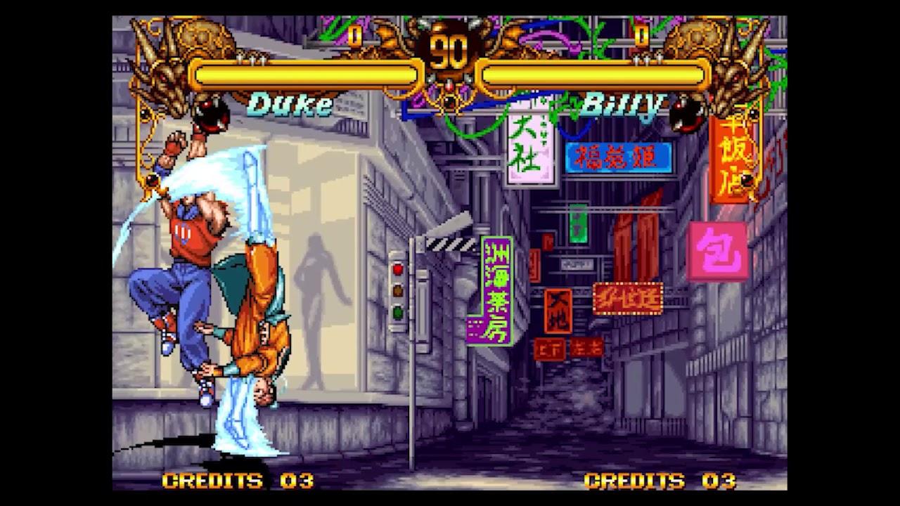 NeoGeo Double Dragon (1995) - 100% Full Combos - Vol 3