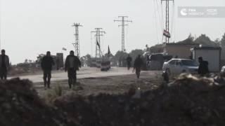 Гумкоридор в Алеппо после обстрела боевиками