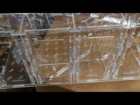 Fish Tank Box Acrylic Isolation Breeding Injured Fish Sanctuary Copepods Amphipods Invertebrates