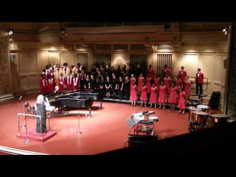 HARRISON'S CHORAL CONCERT AT CARNEGIE MUSIC HALL