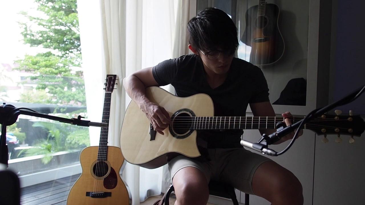 Keystone MD German Moon Spruce/Figured Brazilian Rosewood Demo - The Golden Era Guitar
