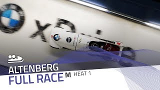 Altenberg | BMW IBSF World Cup 2018/2019 - 2-Man Bobsleigh Heat 1 | IBSF Official