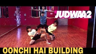 Oonchi Hai Building 2.0 | Judwaa 2 | Dance Cover | @PoppinStrobe Choreography | Varun | Jacqueline
