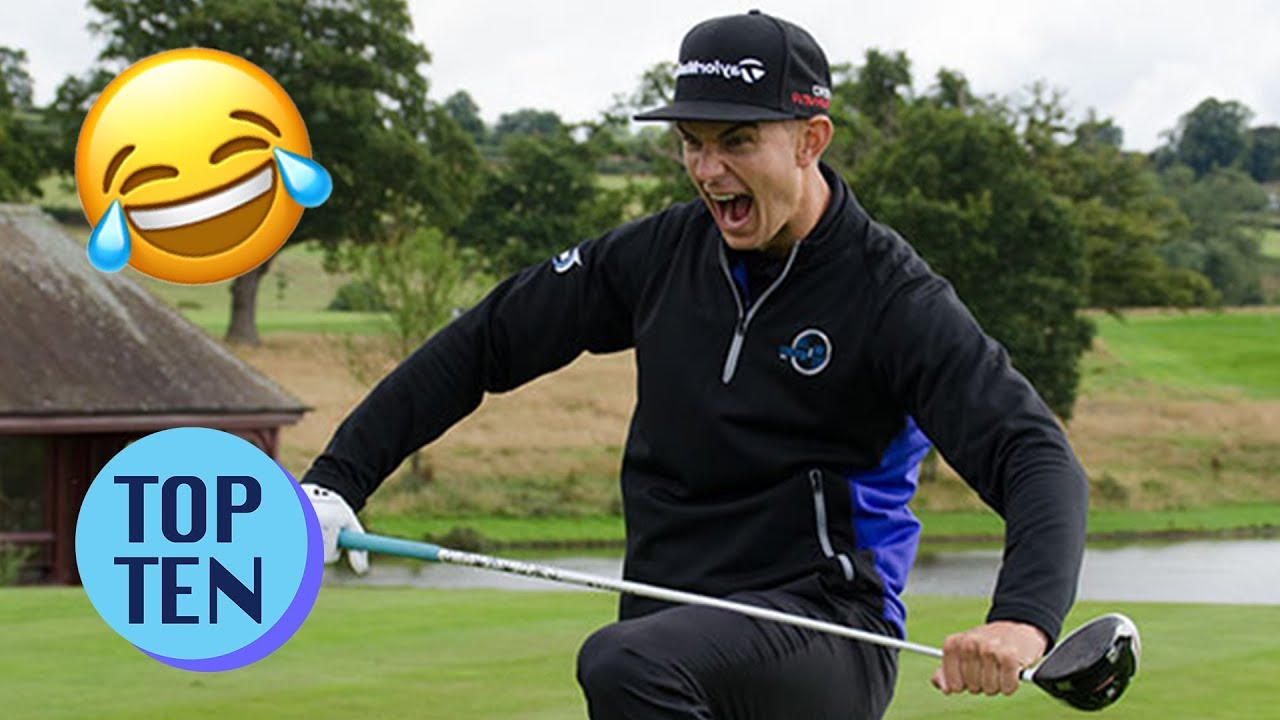 Top 10 Golf Freakouts Angry Golfers Youtube