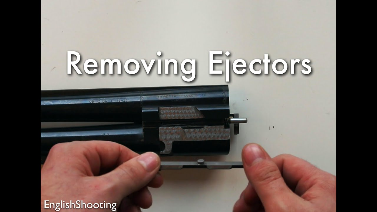 Removing and Replacing the Ejectors of an Over and Under Shotgun - Gun  Maintenance