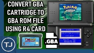 Convert Real GBA Cartridges Into Rom Files Using R4 Card!