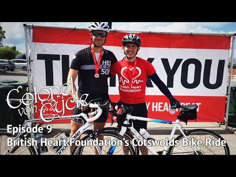 BRITISH HEART FOUNDATION'S COTSWOLDS BIKE RIDE 2017