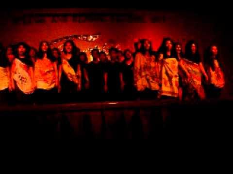 The Congo( Speech Choir/ Jazz Chant ) BSIT - University of Mindanao
