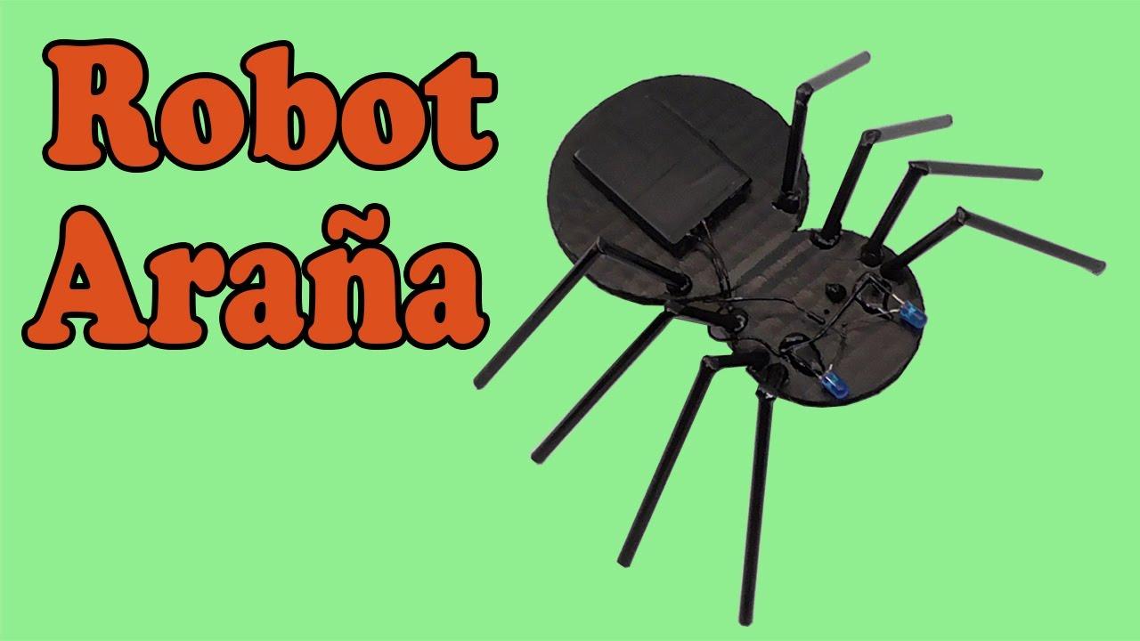 Cómo Hacer Una Araña Robot (Muy fácil de hacer) - YouTube