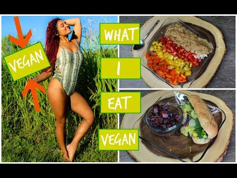 WHAT I EAT TO LOSE WEIGHT: VEGAN WHAT I EAT IN A DAY