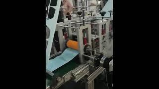 플랫 3ply KN95 N95 마스크 제작 기계 자동 …