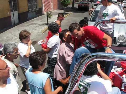 RECORRIDO RULO X MOCTEZUMA Y PENSADOR MEXICANO 13 JUNIO 2012.AVI