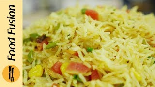 Masala Fried Rice Recipe By Food Fusion