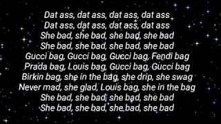 Cardi B - She bad lyrics ft YG