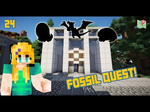 HOW TO BEAT THE FOSSIL QUEST! | Minecraft Pokefind Ep 24