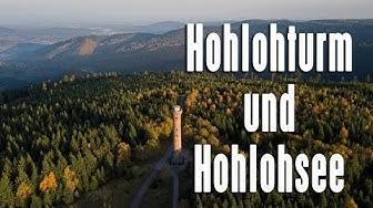 Unterwegs in Kaltenbronn - Hohlohturm und Hohlohsee (4K)