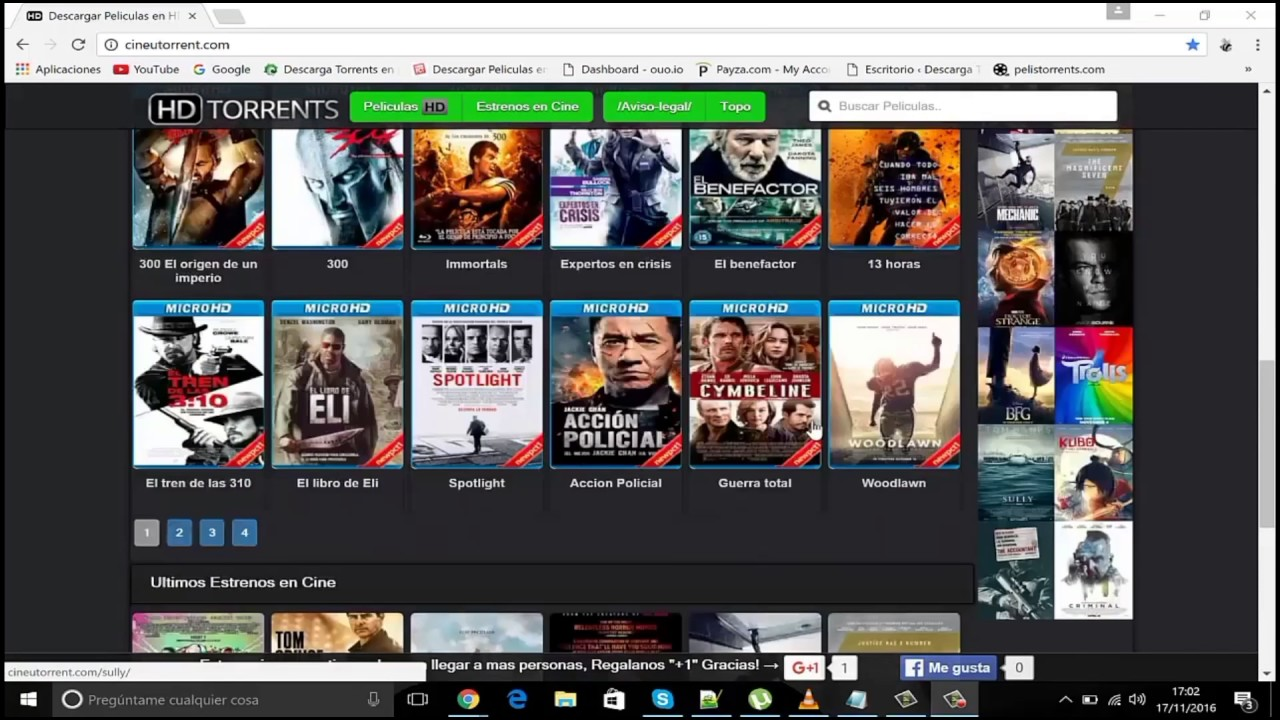 peliculas hd torrent