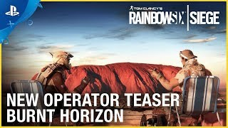 Rainbow Six Siege: Operation Burnt Horizon - New Operator Teaser | PS4